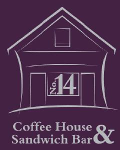 Number 14 Coffee Shop Logo